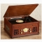 Antique style wooden LP player Gramophone record player CD/USB/FM/BLUETOOTH