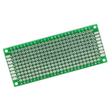3*7CM breadboard 2.54mm double double-sided tin