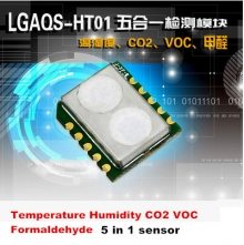 VOC CO2 temperature and humidity formaldehyde sensor module HT01