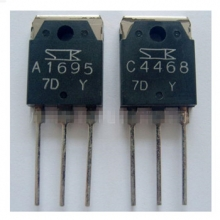 Power amplifier transistor 2SA1695 2SC4468