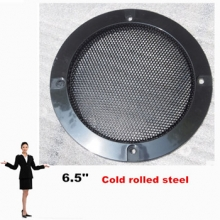 6.5 inch Metal Mesh Car Woofer Cover Speaker Grill 2pcs/lot ABS material