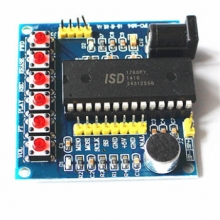 ISD1760 playing and recording module