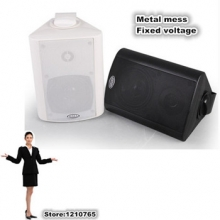 5'' wall-hanging speaker audio broadcasting conference system