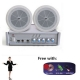 Background music amplifier 2pcs 5 ceiling speaker 40W 1 set