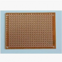 5*7CM hole breadboard 2.54mm separation distance