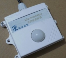 Wall-mounted light transmitter photodetector light sensor