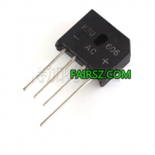 KBU606 6A 600V Bridge rectifier