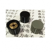 KYZ20-16-6 plastic potentiometer knob diameter 20mm height 16mm