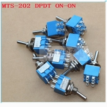 MTS-202 DPDT ON-ON toggle switch