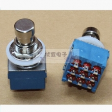 PBS-24-302 9P 3PDT guitar effect pedal switch