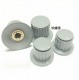 KYP25-18-6 knob gray for 118 type potentiometer