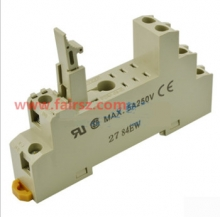 OMRON relay socket P2RF-08-E 8 holes 5A 250V
